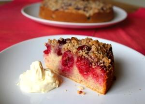 Cherry raspberry almond cake2