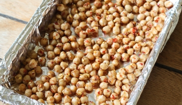 Spicy roast chickpeas 2