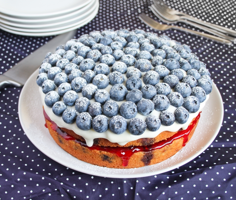 Blueberry cake_